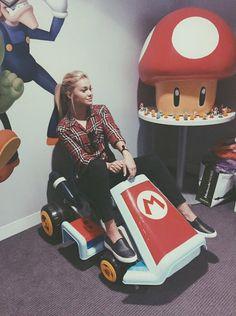 Photos: Olivia Holt Thankful To Nintendo July 7, 2015 - Dis411