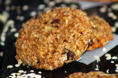 Dulcemente Nadia: Galletas (sin gluten, huevo y leche) de avena y chocolate.