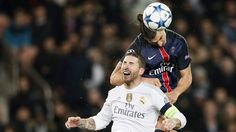 FRANCE SOCCER UEFA CHAMPIONS LEAGUE (Paris Saint Germain vs Real Madrid)