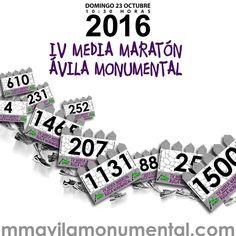 Sorteo de 6 dorsales para correr la Media Maratón Ávila Monumental 2016 de vamosacorrer.com #sorteo #concurso http://sorteosconcursos.es/2016/09/sorteo-de-6-dorsales-para-correr-la-media-maraton-avila-monumental-2016/