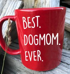 ☀ Get Yours ✔ 1 week delivery time ✔ fast and simple replacement ✔ we print in Germany & ship worldwide Shopping Products, Morning Mood, Cup Art, Custom Cups, Clay Food, Dog Wear, Dog Shirt, Dog Mom, Dog Days