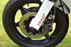 TRAC Honda's front fork anti-dive, all four Japanese manufactures had versions