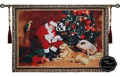 Christmas Wall Hanging Tapestry >>> Be sure to check out this awesome product.