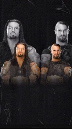 the TRUE tag team champions @wweromanreigns @Seth Combs Rollins