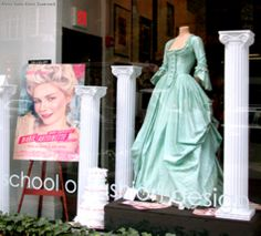 Dress by Milena Canonero for Marie Antoinette (2006).