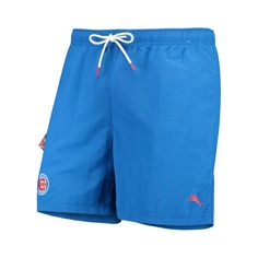 Chicago Cubs Shorts with 2 Side Pockets and 1 Rear Pocket Cotton//Poly XL White