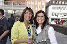 Tanja Ulmer (l.) und Elena Grätz freuten sich über die gelungene 2. Auflage des #Ladies #Day in #Reutlingen. #Event #StaRT