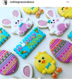 "167 Likes, 1 Comments - Judit Reding (@thesweetdesignsshoppe) on Instagram: ""Easter cookies by @ruthiegracecakeco ❤️ #sharethecookie #3dprinting #3dcookiecutters…"""
