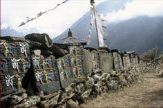 Mani wall Om Mani Padme Hum, Mount Rushmore, Mountains, Illustration, Wall, Nature, Travel, Image, Viajes