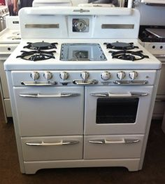 SAVON Appliance Refinishing 818-843-4840 For Sale: stove vintage, Wedgewood stoves, refurbished vintage stoves, antique gas stoves, vintage ...