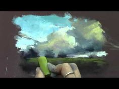Quick Pastel Painting Demo from Periscope Broadcast - YouTube