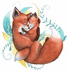 Regrann from - I drew this in advance, for Mother's Day. - Tiere Malen Ideen 2020 - Regrann from - I drew this in advance, for Mother's Day. Regrann from - I drew this in advance, for Mother's Day. Fox Drawing, Baby Drawing, Fuchs Illustration, Cute Illustration, Watercolor Illustration, Cute Drawings, Animal Drawings, Animal Illustrations, Fuchs Tattoo