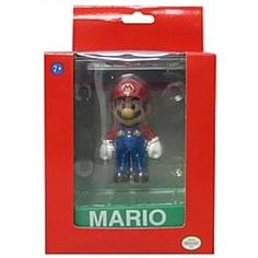 Super Mario Wii Deluxe Vinyl 4 Inch Action Figure Mario ** Check this awesome product by going to the link at the image. (This is an affiliate link) #ActionToyFigures
