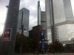 #StreetArt #Sticker #Frankfurt #EZB #EuropeanCentralBank #OWLY