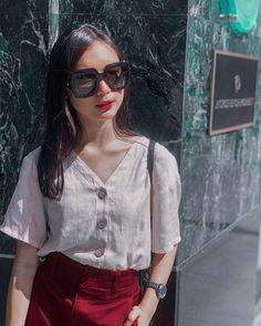 Wearing sunglasses every summer 🤗 Filipina Girls, Filipina Actress, Filipina Beauty, Classy Work Outfits, Korean Couple, Kdrama Actors, Cute Girl Photo, Bikini Photos, Outfit Goals