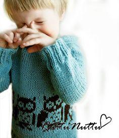 Cute owl sweater