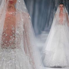 Paolo Sebastian wedding dress from Haute Couture Fall/Winter 2015 Collection. Mermaid Dresses, Bridal Dresses, Prom Gowns, Evening Gowns, Paolo Sebastian Wedding Dress, Wedding Silhouette, Wedding Dress Pictures, Engagement Dresses, Designer Wedding Gowns