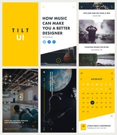 Tilt UI Kit Preview