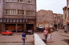 Magazinul Bucuresti in 1991.