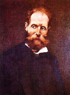 Antero de Quental, retrato por Columbano Bordalo Pinheiro