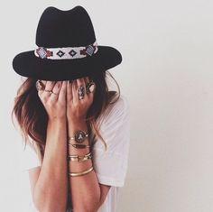 *♥* boho hat