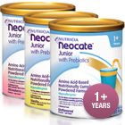 Neocate Junior with Prebiotics- GI doctor recommended 2 shakes a day while 6 year old is on the 6 Food Elimination Diet.  Will prevent weight loss and malnutrition.