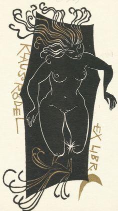 Art-exlibris.net - exlibris by Ladislav Rusek for Klaus Rödel