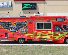 Bbq Trailer Wrap Food Truck Food Truck Trailer Wraps