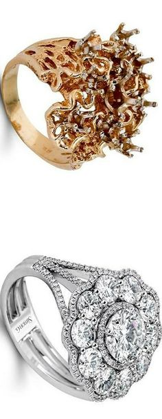 Simon G. Jewelry Customization. Diamonds out of one into a new setting | LBV ♥✤ | KeepSmiling | BeStayElegant