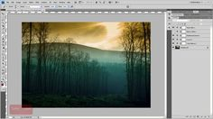 How To Merge Two Layers - Photoshop Tutorial [60 Seconds]