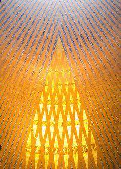 Sagrada Família (Basilica of the Holy Family) - Details on the skylight.
