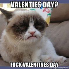 Grump Cat Valentines Day