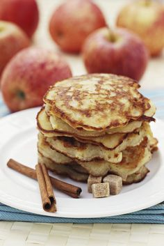 Apple Quinoa Pancakes