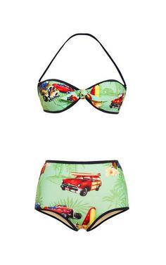 M'O Exclusive: Razza Hawaiian Bikini by Stella Jean Now Available on Moda Operandi