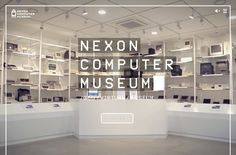 NEXON COMPUTER MUSEUM | Web Design File