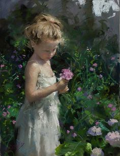 Pastel on Ingres paper mounted on cardboard by Vicente Romero Redondo