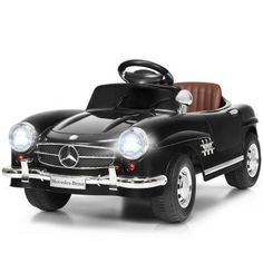 Baby Ride On, Kids Ride On, Baby Car, Batterie 12 Volts, Black Mercedes Benz, Mercedes 300, Toy Cars For Kids, Carte Sd, Ride On Toys