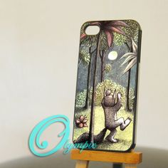 iPhone 4/4s case - iphone 5 case - samsung galaxy s3 / s4 case - Where the Wild Things are - Photo print on hard plastic