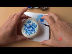 Rosa em Sabonete (Modelo 2/ Aula 16) - YouTube