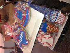 Texas cookie display