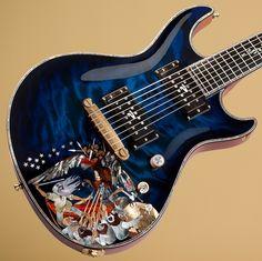 Ruokangas Guitar - Duke Classic - defence of sampo