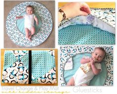 60 homemade baby items-truly an amazing list of really cool, on-trend baby items that you can make...great for gifts!!