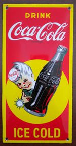 Searching for Old Antique Coke A Cola Signs to Add to your Personal Collection?