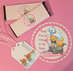 Aristocats Party Favor Decoration Pack 8  by MichelleAndCompany, $18.00