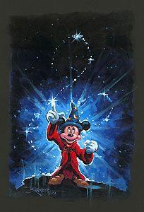 Fantasia - Mickey's Magical Spell - Original - Rodel Gonzalez - World-Wide-Art.com