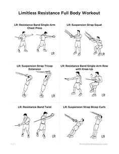 Limitless Resistance Full Body Workout for Men and Women