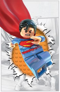 DC Comics are teaming up with LEGO to release LEGO-themed variant covers for 22 of their biggest titles this November. LEGO and DC fans rejoice! Batman Em Lego, Batman Party, Batman Vs, Superhero Party, Lego Dc Comics, Avengers, Superman Man Of Steel, Dc Heroes, Comic Books Art