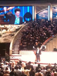 I dreamed of speaking (tag teaming with my husband) before large congregations of people... and sometimes singing.