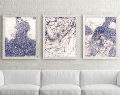 Set of 3 Prints Coastal Prints Minimalist by UrbanEpiphanyPrints
