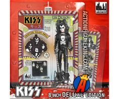 The Demon (aka Gene Simmons) KISS Series 2 Hotter than Hell Variant Action Figure from Figures Toy Company. Kiss Action Figures, Kiss World, Gene Simmons Kiss, Vintage Kiss, Kiss Band, Ace Frehley, Hot Band, Dc Characters, Comic Book Heroes
